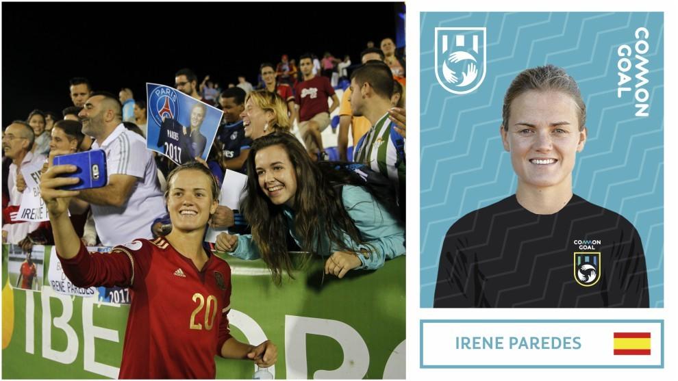 Irene Paredes, última incorporación al equipo de 'Common Goal'.