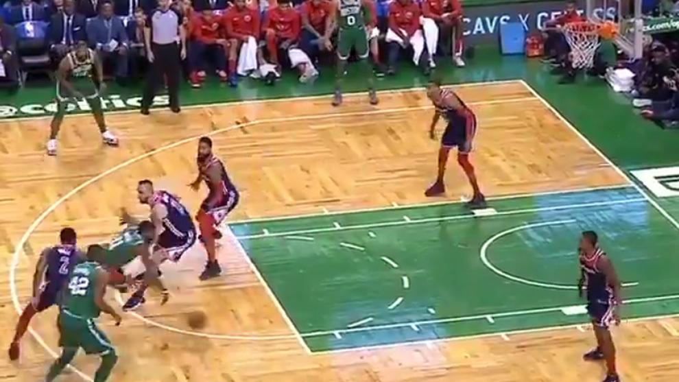 NBA: El juego de manos de Kyrie Irving para despitar a toda la ...