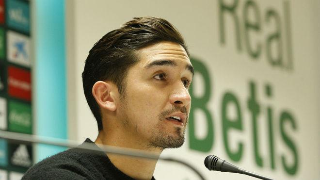 Felipe Gutiérrez, en una rueda de prensa.