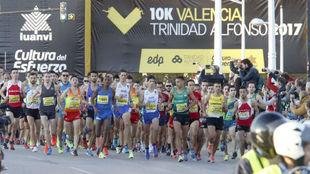 Maratón de Valencia en 2017.