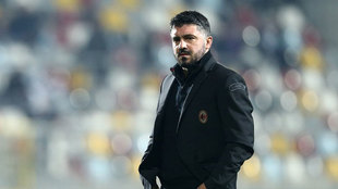 Gennaro Gattuso, entrenador del Milán.