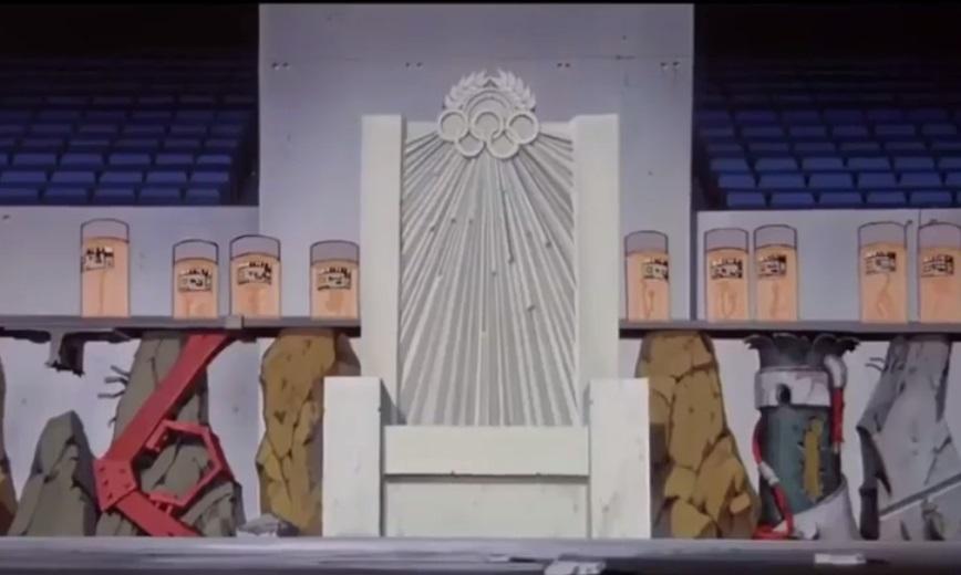 El sillón presidencial del Estadio Olímpico