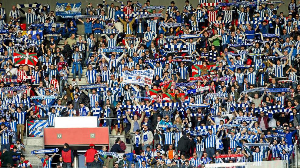 Real Sociedad La Real Tendr U00e1 El Apoyo De Al Menos 1 500