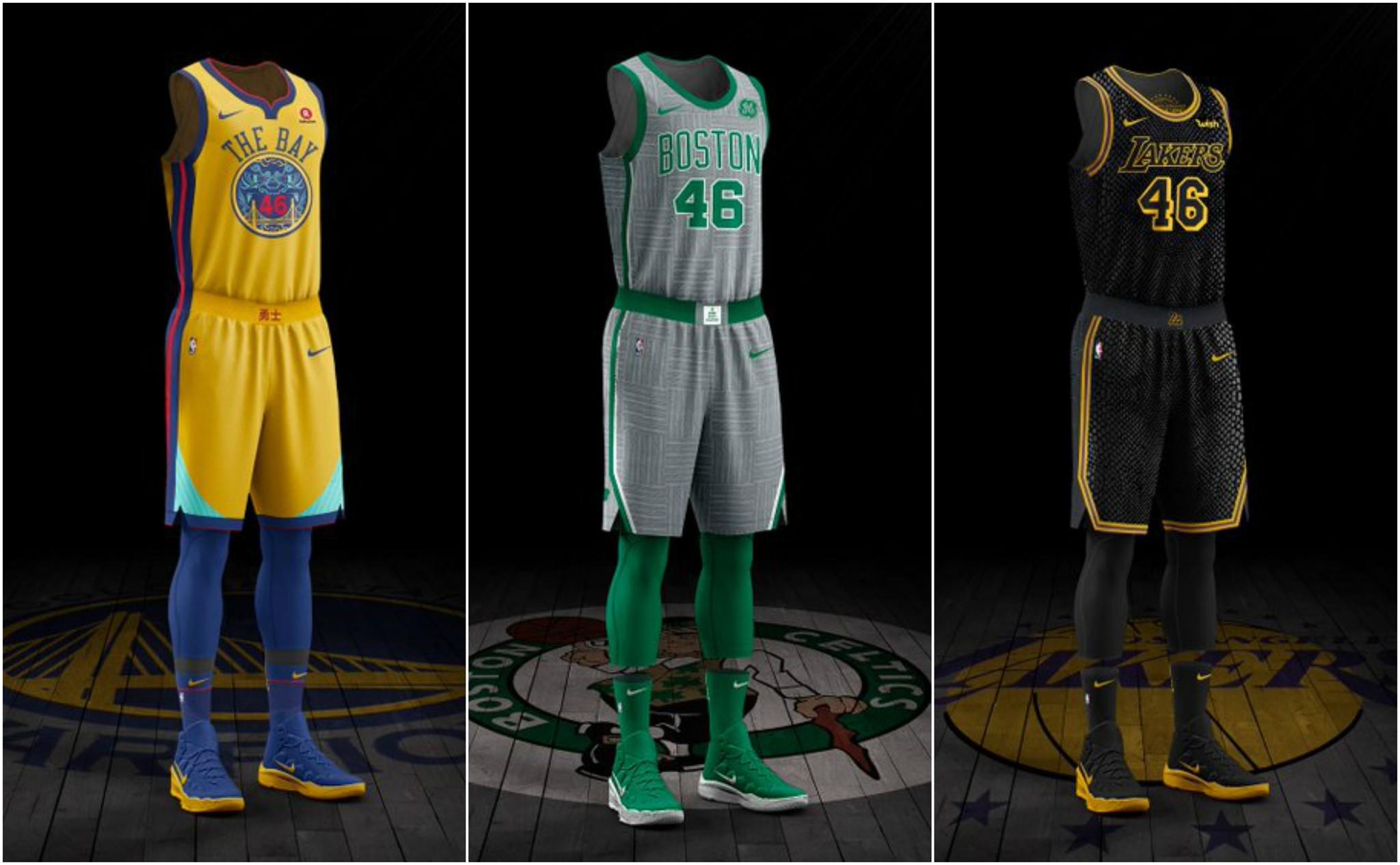 la nba presenta los uniformes city edition nike y la