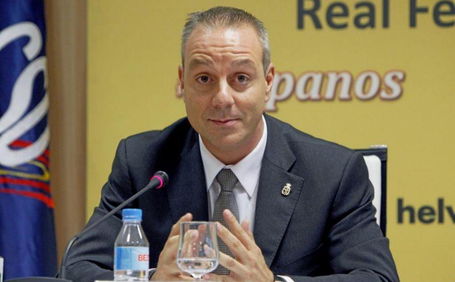 Francisco Blázquez en rueda de prensa