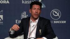 Simeone, en las Conferencias Internacionales de deportes.