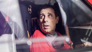 Antonio Solórzano, formando pareja como copiloto con el imponente...