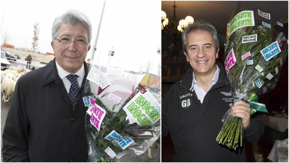 Enrique Cerezo y Manolo Lama.