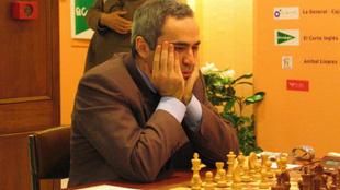 Gari Kasparov en su época en activo
