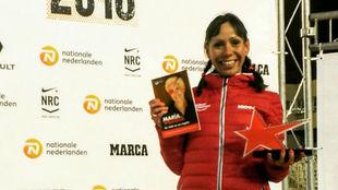 Azucena Díaz, el año pasado tras acabar cuarta la San Silvestre.