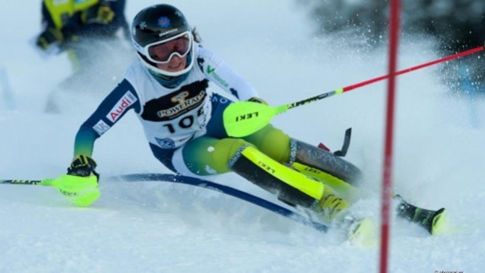 Nuria Pau ha ganado los dos slaloms del VII Memorial Albert Pardo...