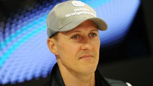 Michael Schumacher, en Monaco 2010