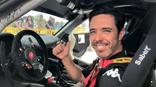 Álvaro Muñiz, campeón de España de GT con Abarth