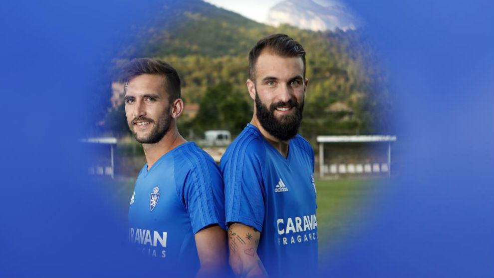 Benito y Ángel posan para MARCA el pasado verano.