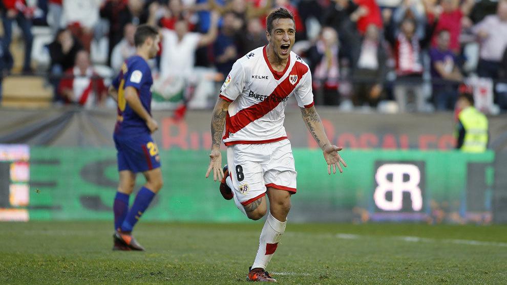 Trejo ha renovado con el Rayo Vallecano hasta 2020.