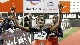 Tirunesh Dibaba, ganadora en 2011.