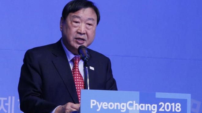 Lee Hee-beom, presidente del Comité Organizador de PyeongChang