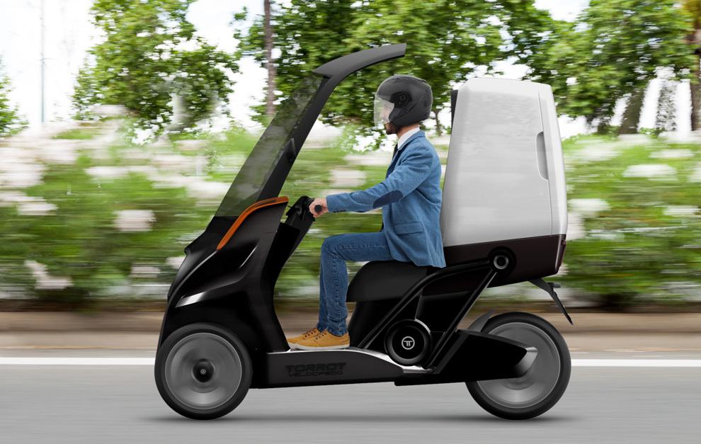 Torrot fabricar una moto el ctrica de tres ruedas - Coches por 100 euros al mes sin entrada ...
