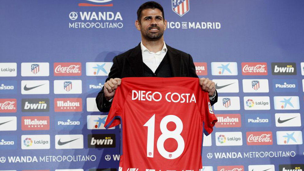 Traspasado desde el Chelsea FC al Club Atlético de Madrid