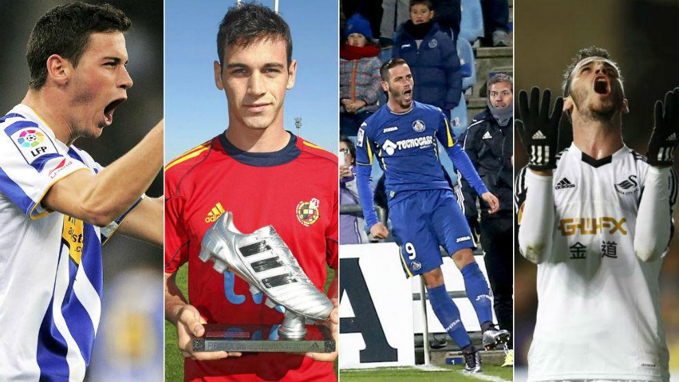Álvaro Vázquez, con el Espanyol, la Selección, el Getafe y el...