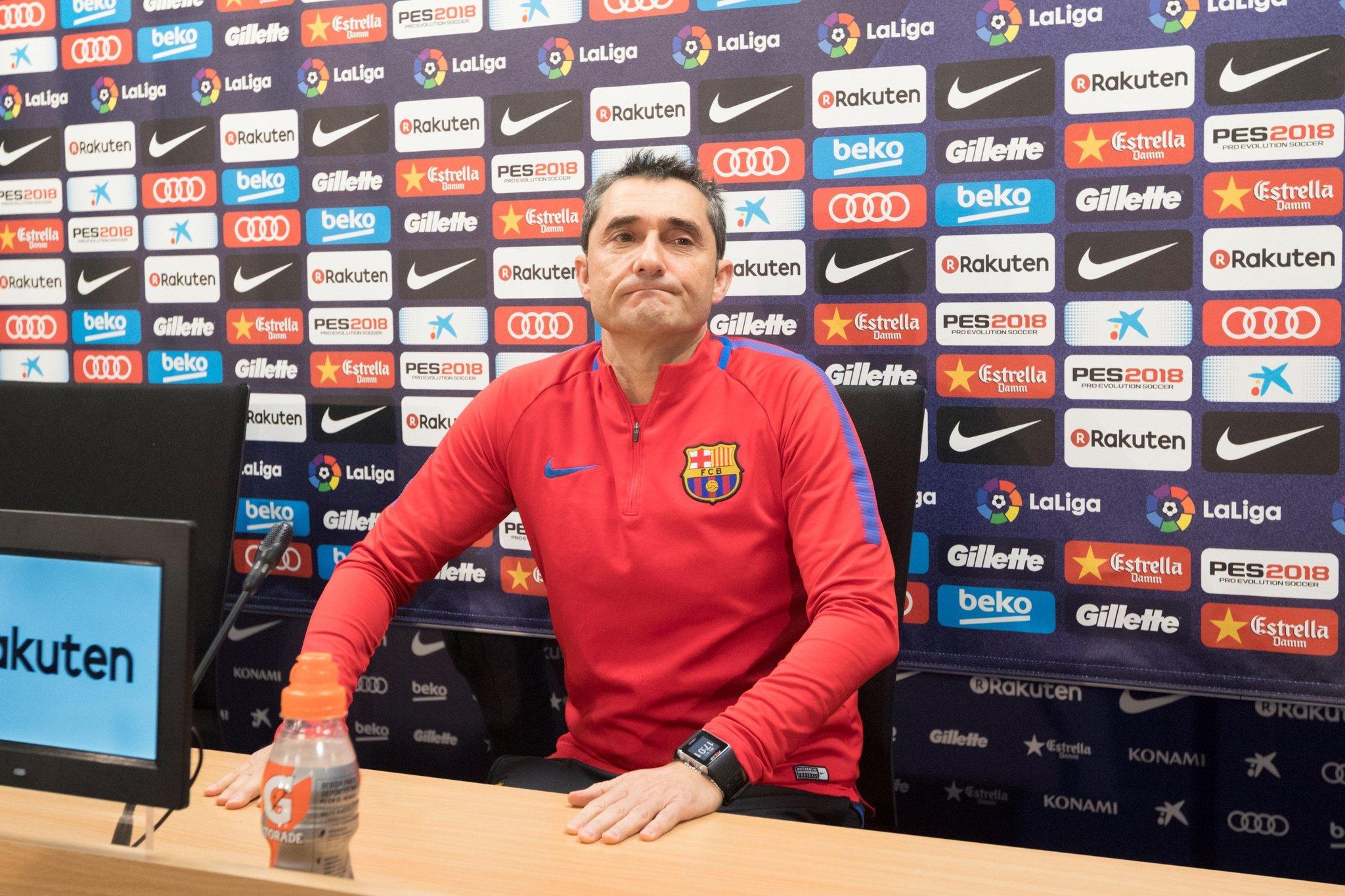 Valverde, este miércoles en sala de prensa