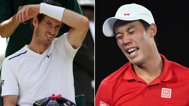 Andy Murray y Kei Nishikori