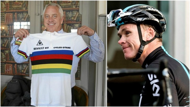 Greg Lemond y Chris Froome.
