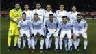 El once del Real Madrid en el partido ante el Numancia