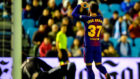 Arnaíz celebra su gol en Balaídos
