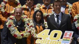 Marc Coma presenta la 40º edición del Dakar.