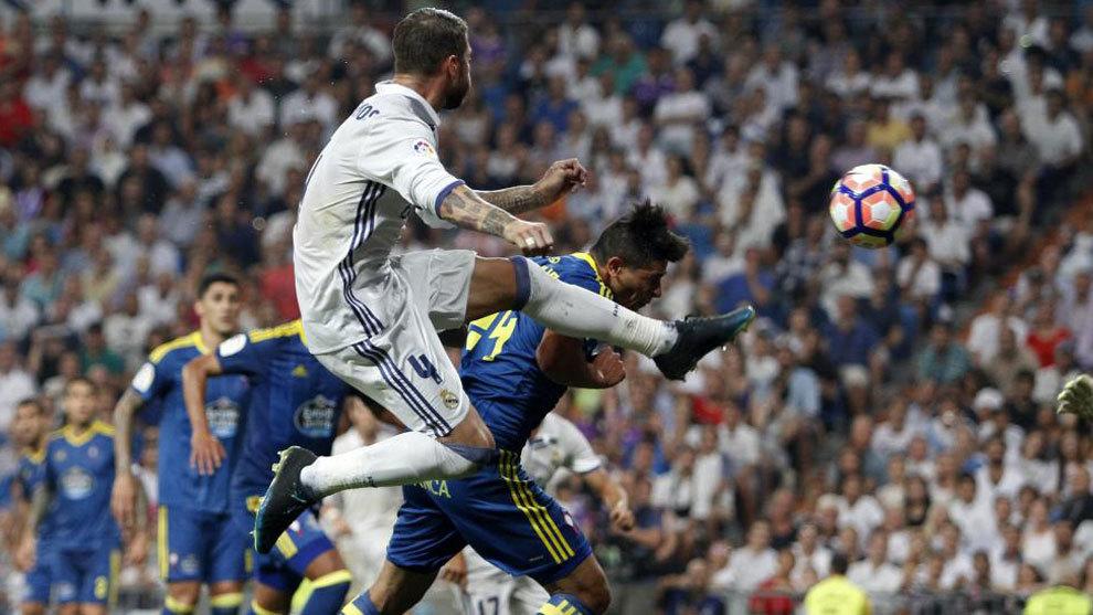 Partido de Liga Real Madrid vs Celta de Vigo