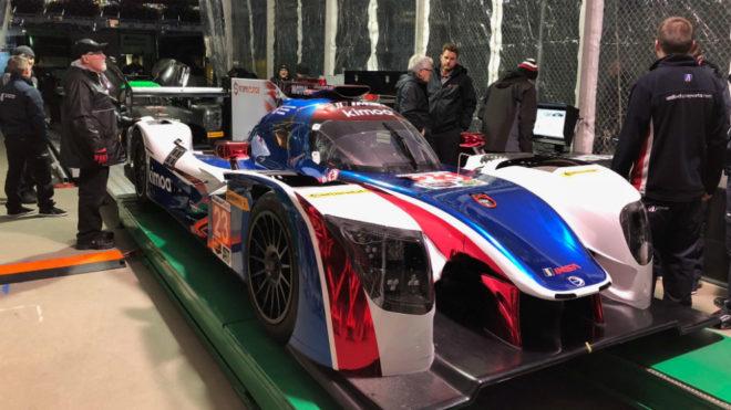 El coche de Alonso para Daytona.