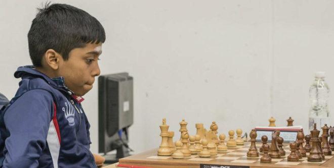 Prag, durante una partida de ajedrez.