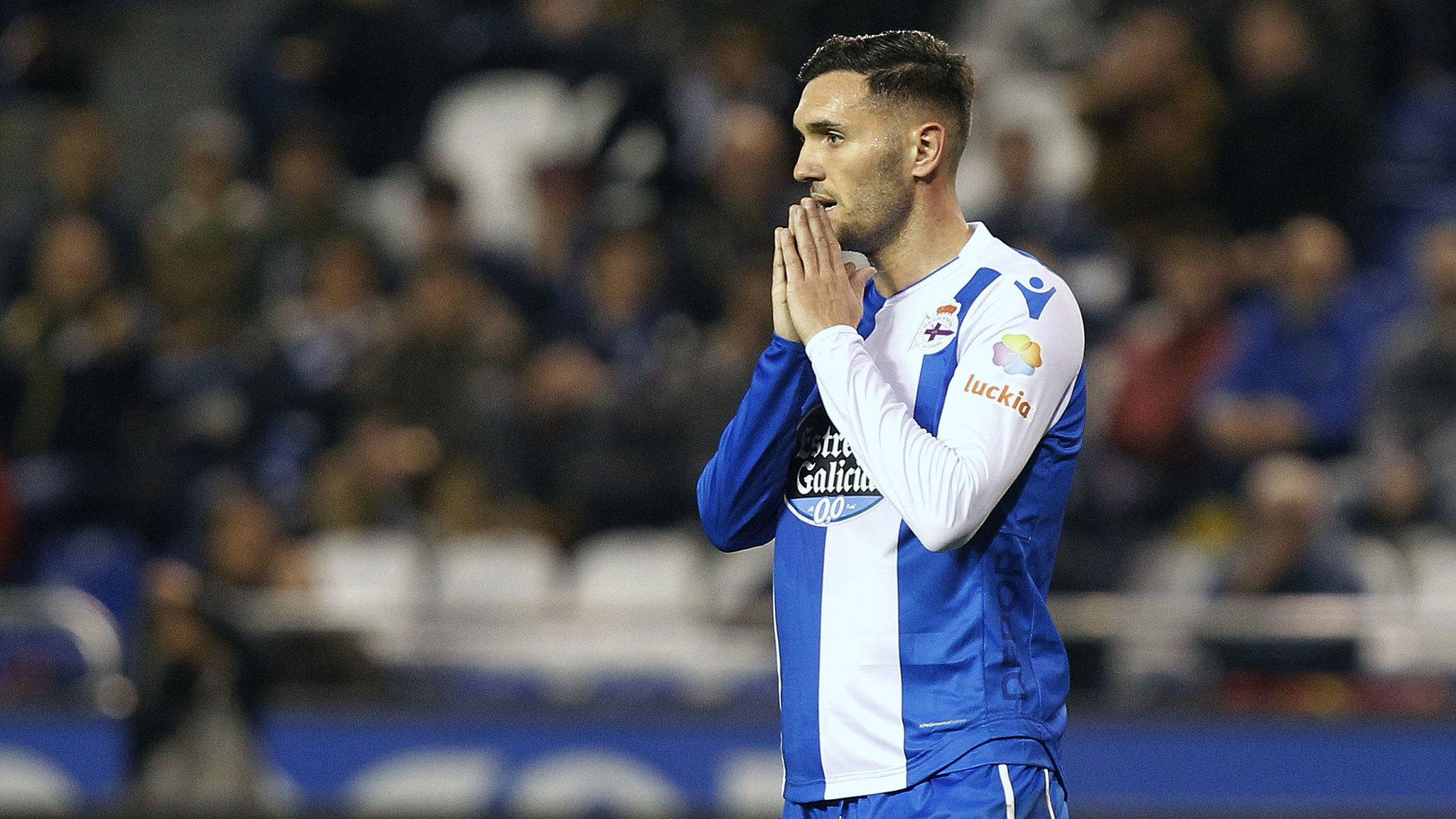 Lucas Pérez no visitará el domingo La Cerámica