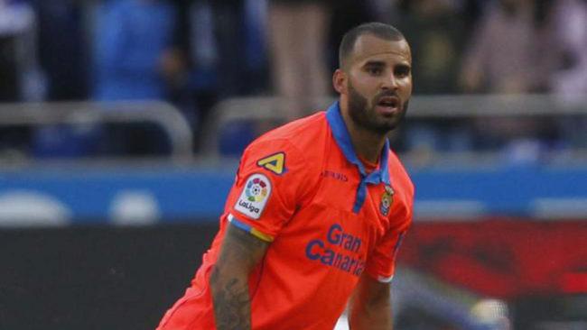 Jesé en un partido de UD Las Palmas contra el Deportivo