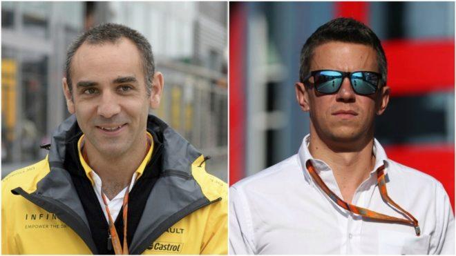 Cyril Abiteboul y Marcin Budkowski.