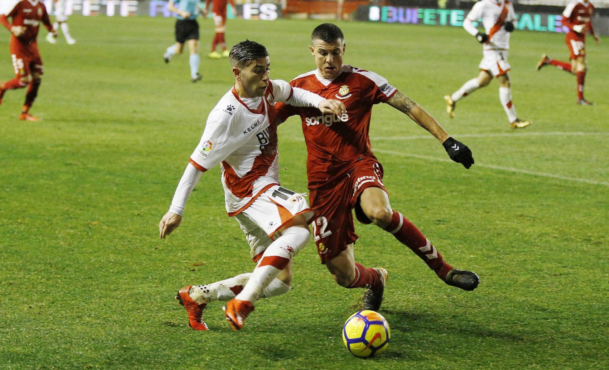 Liga 123: Manu Barreiro tumba al Rayo | Marca.com
