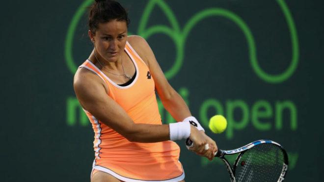 Lara Arruabarrena durante el torneo de Cayo Vizcaíno del año pasado.