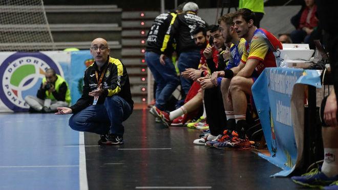 Jordi Ribera durante un partido del Memorial Bárcenas
