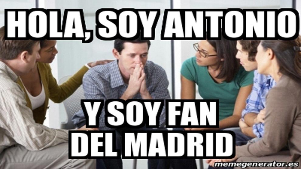 Hi, Im Antonio, and Im a fan of Madrid