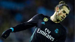 Bale, en el partido ante el Celta.