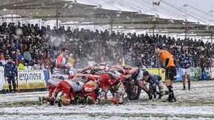 La nieve fue la gran protagonista en el Pepe Rojo de Valladolid en el...