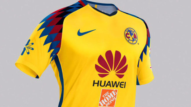 huge selection of d6005 7c0f6 Liga MX Apertura 2018: América presume su tercer uniforme y ...