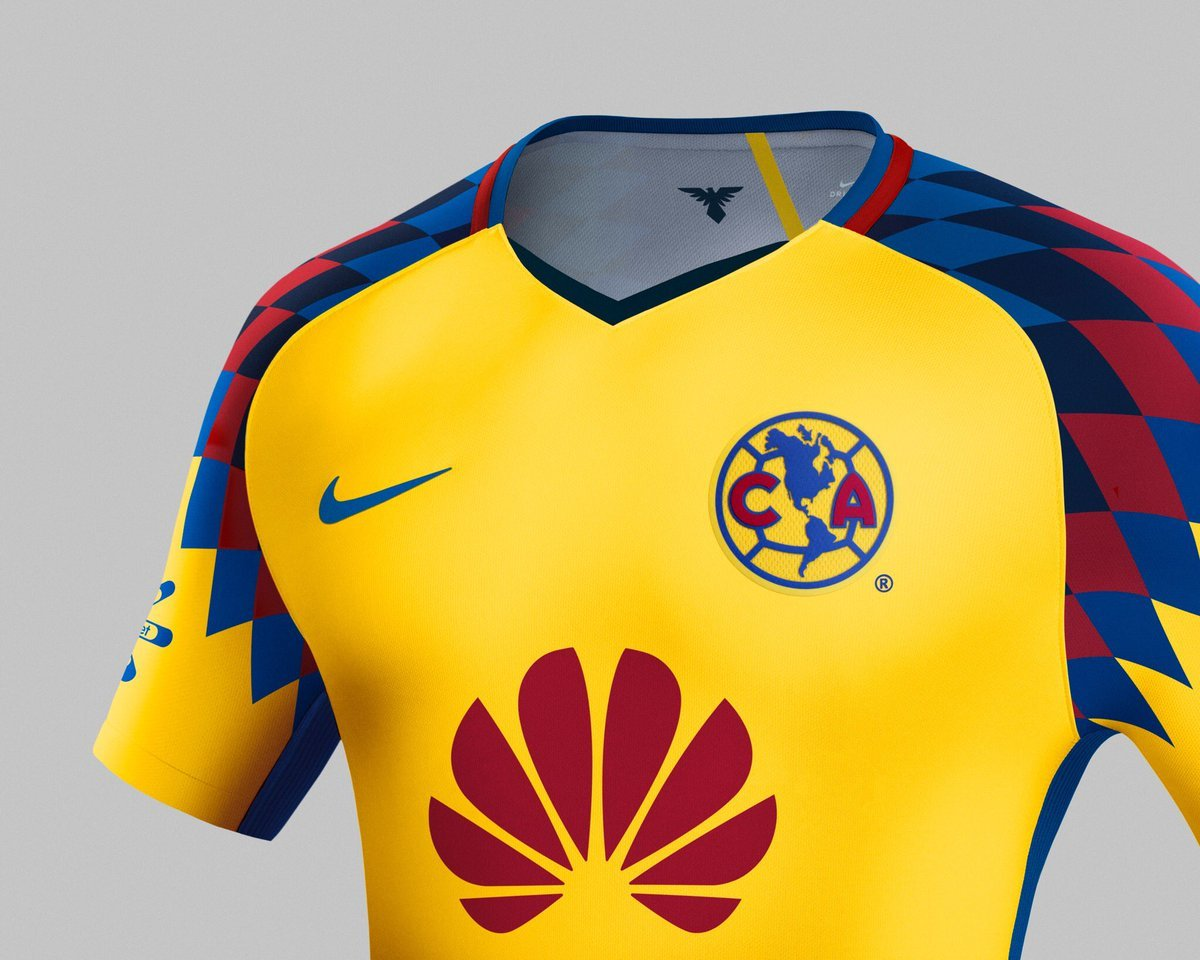 Liga mx am rica presume su tercer uniforme y retoma la for Cuarto uniforme del america