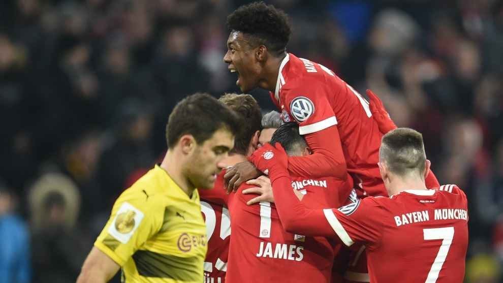 El Bayern Munich y el Borussia Dortmund son los dos grandes equipos de...