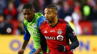 Justin Morrow, defensa del Toronto FC, uno de los convocados, durante...