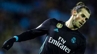 Gareth celebra un gol en Balaídos