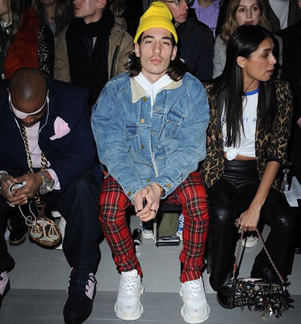 Hector Bellerin's style raises eyebrows at London Fashion ...