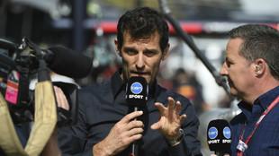 Mark Webber durante el GP de Australia 2017