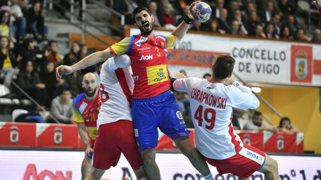 Eduardo Gurbindo, en el último partido de preparación de la...
